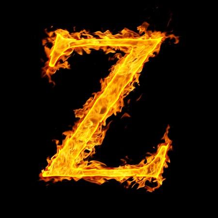 z ,fire letter
