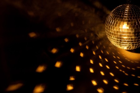 square dancing: disco ball Stock Photo