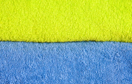 color convolute towels photo