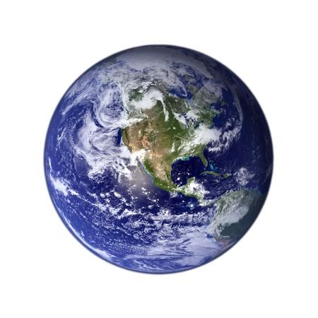 terrestrial globe: earth