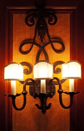 the lamp on the wall Stock Photo - 8087206
