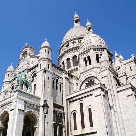 coeur: Sacre Coeur, Montmartre, Paris, France Stock Photo