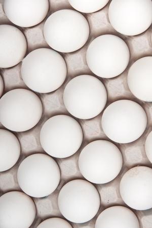 gamme de produit: ?ufs blancs, arri�re-plan Banque d'images
