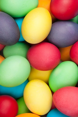 color eggs for holiday easter, background photo