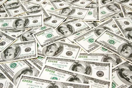 greenbacks: dollars background