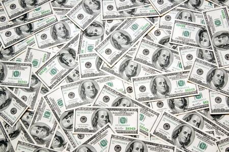 Dollar-Hintergrund Standard-Bild - 9460294