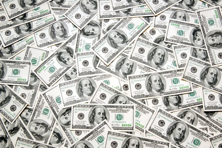dollar bills: dollars background
