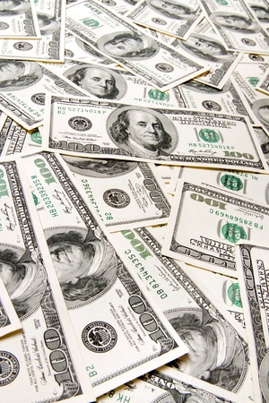 dollars background Stock Photo - 9719881