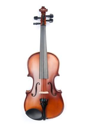 Violine isoliert auf weiß Standard-Bild - 10615528