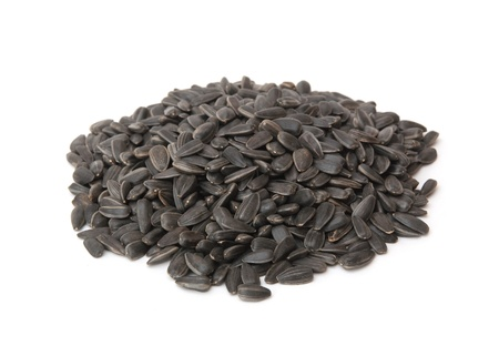 black seeds: sunflower seeds, black seeds