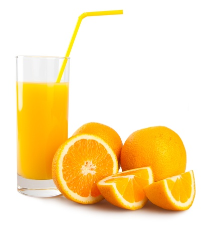 orange and juice photo