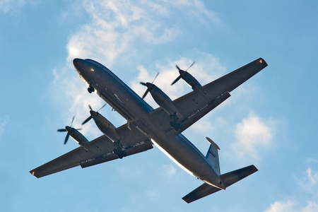 turboprop: AN-12 - four-engined turboprop transport aircraft