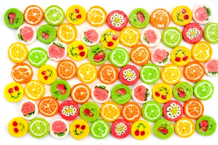 many different tasty candies, background Stock Photo - 12310163