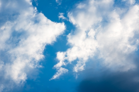 stratus: blue sky with clouds