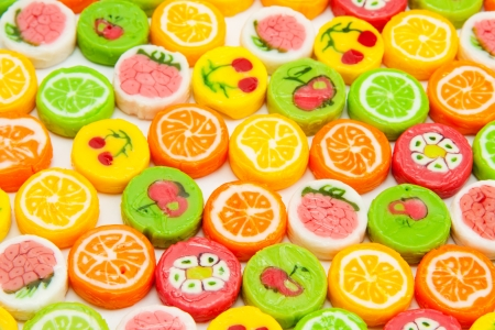 many different tasty candies, background Stock Photo - 14379389