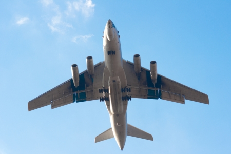 Il-76 is a multi-purpose four-engined strategic airlifter Stock Photo - 14376286