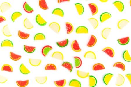 fruit jellies, oranges, lemons, limes photo