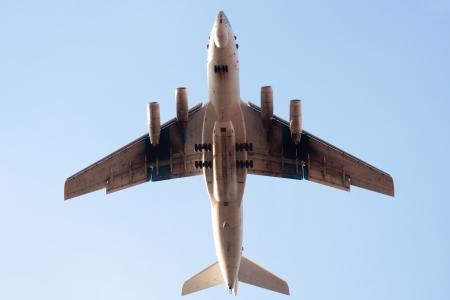 multipurpose: multi-purpose four-engined strategic airlifter Stock Photo