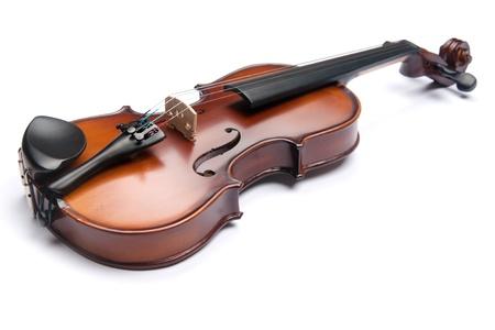 violoncello: violino isolato su bianco