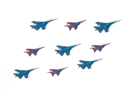 twin engine: Su-27 is a twin-engine supermanoeuverable fighter aircraft,  mig-29 is a fourth-generation jet fighter aircraftft Editorial