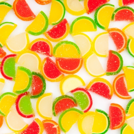 fruit jellies, oranges, lemons, limes Stock Photo - 17989850