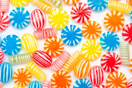 many different color candies, background Stock Photo - 18701978