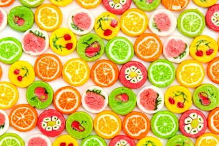 many different tasty candies, background Stock Photo - 18701980