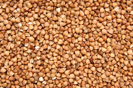 kasha: buckwheat Stock Photo