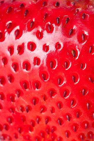 extreme macro: extreme macro red strawberry, background
