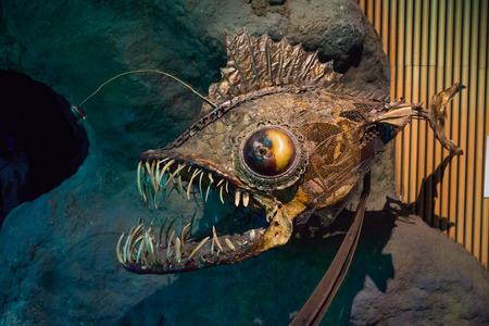 angler: angler fish, dummy