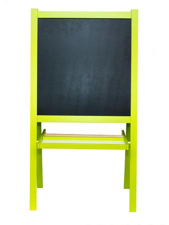 easel: blackboard easel