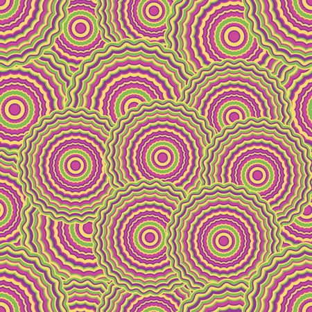 hypnose: bright coloured hypnose seamless abstract pattern