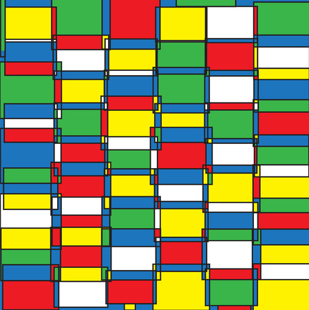 panes: vector seamless abstract pattern in pop art style