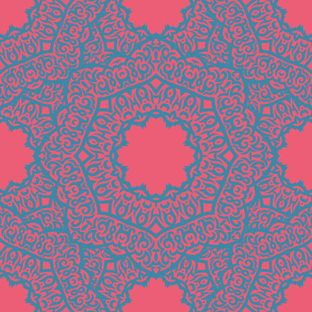 laced: vector seamless laced pattern in oriental style Illustration