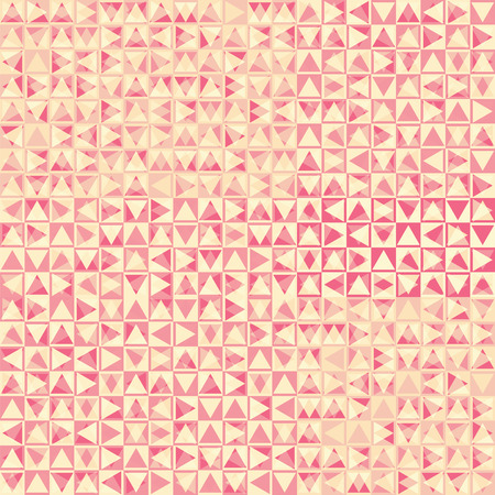 industria textil: vector seamless abstract geometric pattern with faded effect, pink print for textile industry Vectores