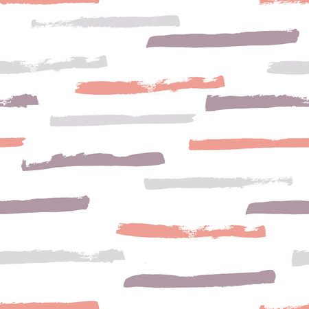 vector semaless pattern, grunge stripes on white background