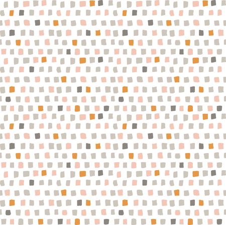 vector seamless pattern with cute little squares