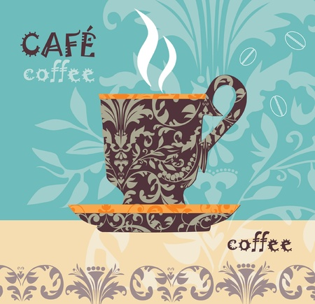 Vector coffee  Stock Vector - 10502075