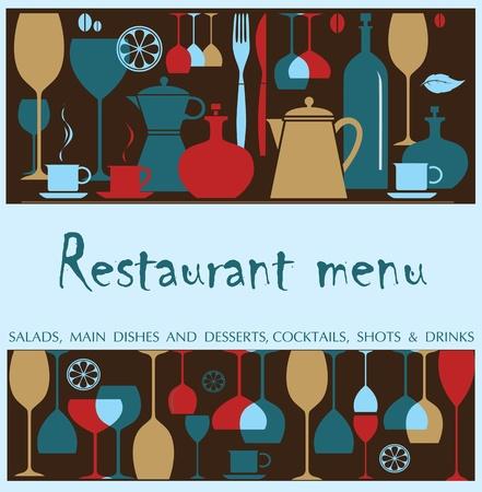 Vector. Restaurant menu design Stock Vector - 11648277