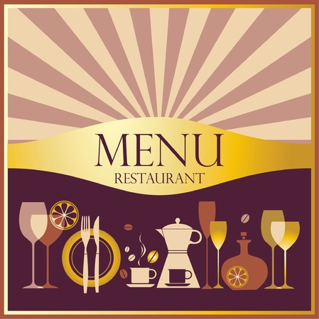 Restaurant menu design Stock Vector - 11648284