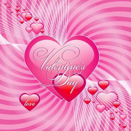 Cute Valentine Background Stock Vector - 12460449