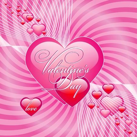 Cute Valentine Background Stock Vector - 12460449