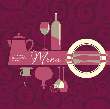 Menu for restaurant, cafe, bar, coffeehouse Stock Vector - 12874584