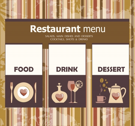 favourite: Favourite restaurant  Illustration