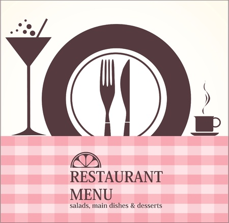 Menu Stock Vector - 14585543