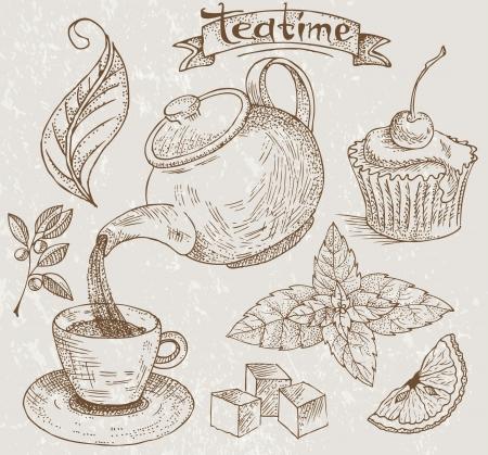 Teatime icons