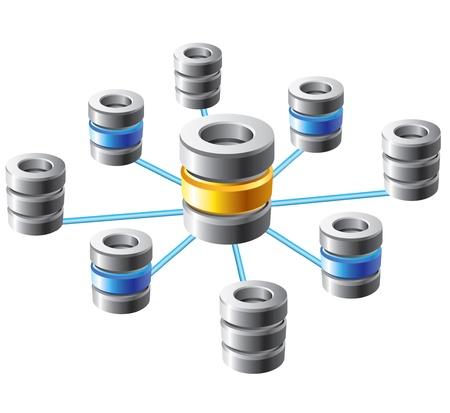infraestructura: Base de datos y el concepto de red