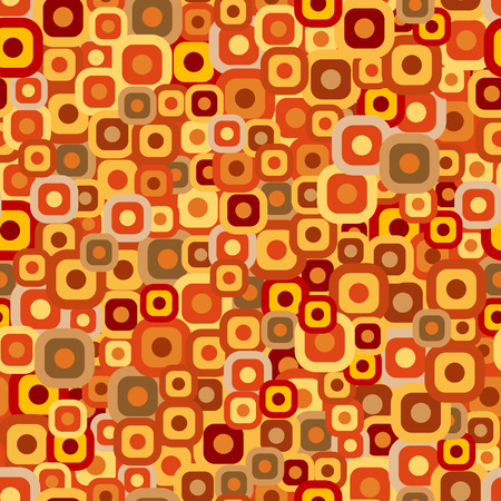Seamless tiles background in autumn colors