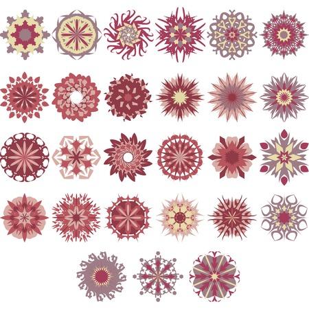 Beautiful design elements Illustration