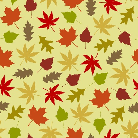 Seamless autumn background
